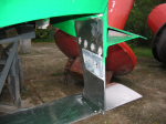 Aft wing with anodes